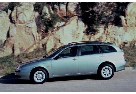 ALFA ROMEO 156 Sportwagon I kombi silver grey boczny lewy