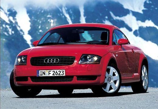 AUDI TT 8N coupe czerwony jasny przedni lewy