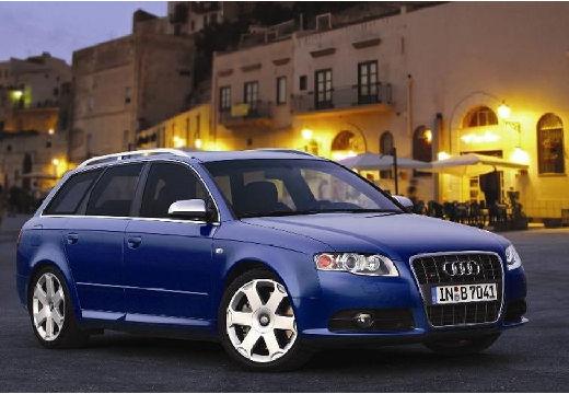 AUDI A4 Avant 8E II kombi niebieski jasny przedni prawy