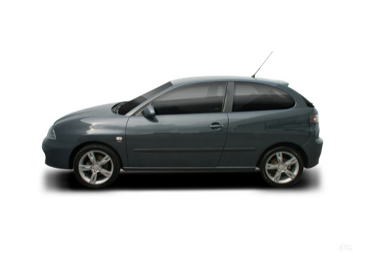 SEAT Ibiza IV hatchback boczny lewy