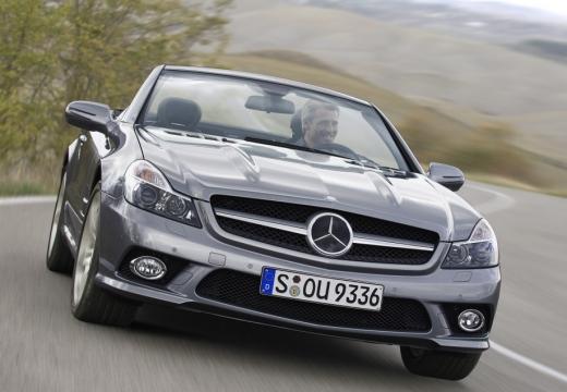 MERCEDES-BENZ Klasa SL SL 230 III roadster silver grey przedni prawy