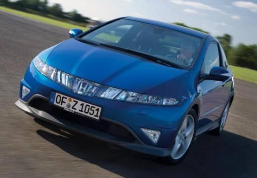 HONDA Civic VII hatchback niebieski jasny przedni lewy