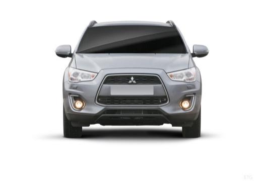 MITSUBISHI ASX II hatchback szary ciemny przedni
