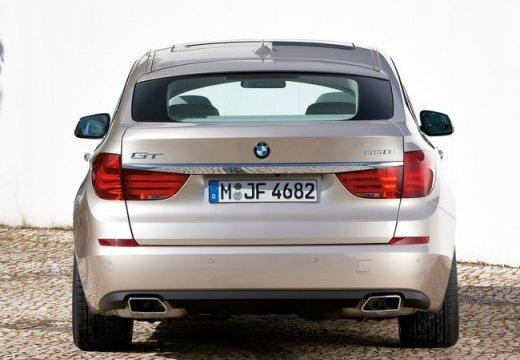 BMW Seria 5 Gran Turismo hatchback beige tylny