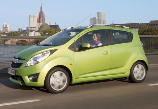 CHEVROLET Spark II hatchback zielony przedni lewy