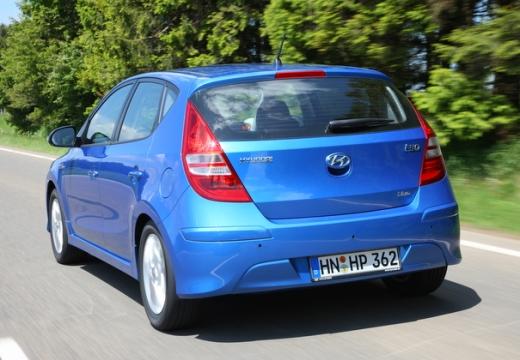 HYUNDAI i30 II hatchback niebieski jasny tylny lewy