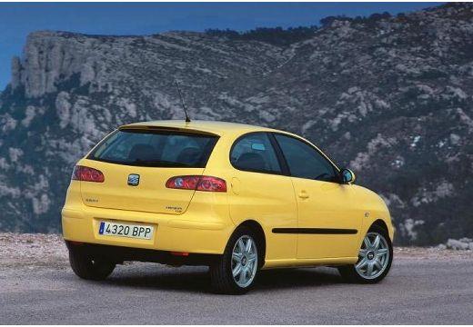 SEAT Ibiza IV hatchback żółty tylny prawy