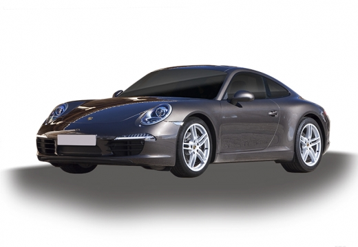 PORSCHE 911 coupe szary ciemny