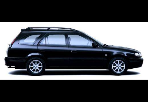 Toyota Corolla IV kombi czarny boczny prawy