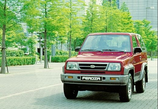 DAIHATSU Feroza 1.6 SX Saphir Hardtop Kabriolet I 95KM (benzyna)