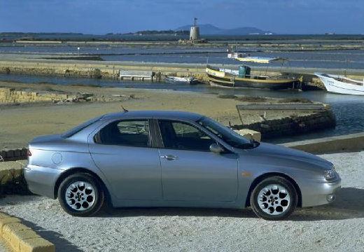 ALFA ROMEO 156 II sedan silver grey boczny prawy