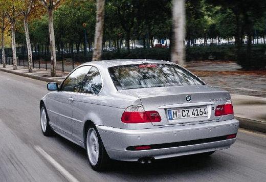 BMW Seria 3 E46/2 coupe silver grey tylny lewy