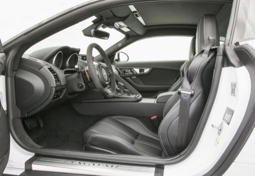 JAGUAR F-Type I coupe biały wnętrze