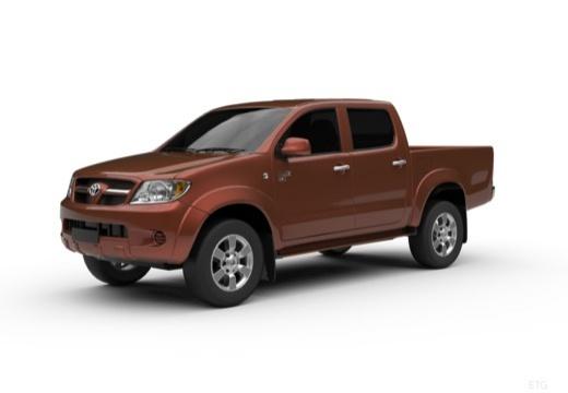 Toyota HiLux III pickup przedni lewy