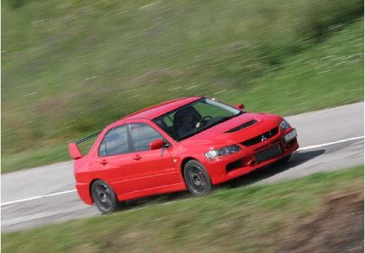 MITSUBISHI Lancer V sedan czerwony jasny przedni prawy