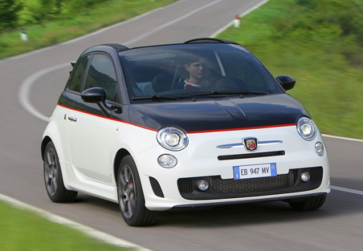 FIAT 500C 1.4 16V T-Jet Abarth 595 Competizione Kabriolet C I 160KM (benzyna)
