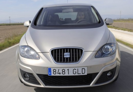 SEAT Altea XL II hatchback silver grey przedni