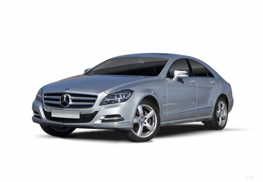 MERCEDES-BENZ Klasa CLS sedan silver grey