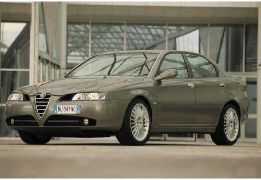 ALFA ROMEO 166 FL sedan szary ciemny przedni lewy