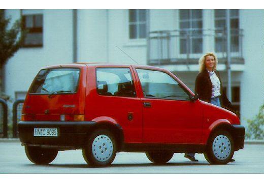 FIAT Cinquecento hatchback tylny prawy
