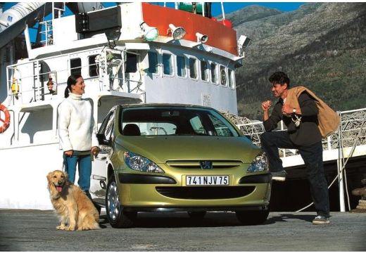 PEUGEOT 307 I hatchback złoty przedni prawy