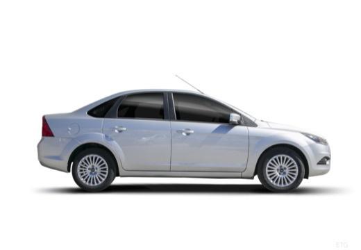 FORD Focus IV sedan silver grey boczny prawy
