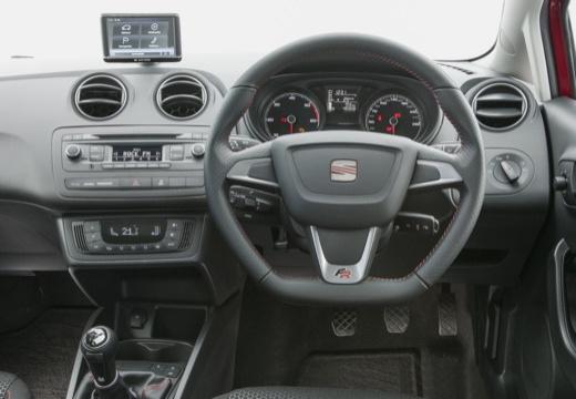 SEAT Ibiza VII hatchback tablica rozdzielcza