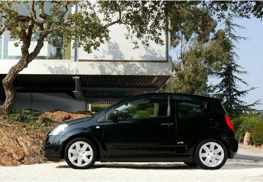 CITROEN C2 I hatchback czarny boczny lewy