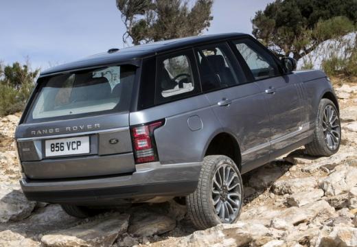 LAND ROVER Range Rover VI kombi silver grey tylny prawy