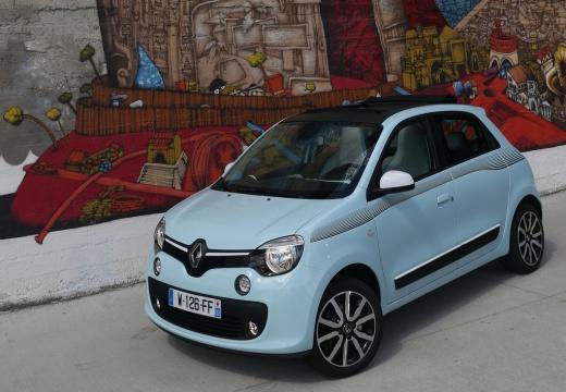 RENAULT Twingo VI hatchback niebieski jasny przedni lewy
