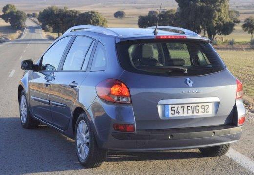 RENAULT Clio III Grandtour II kombi niebieski jasny tylny lewy