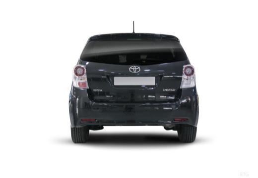 Toyota Verso I kombi mpv czarny tylny
