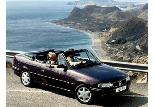 OPEL Astra kabriolet fioletowy przedni prawy