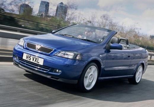 OPEL Astra II Cabriolet kabriolet niebieski jasny przedni lewy