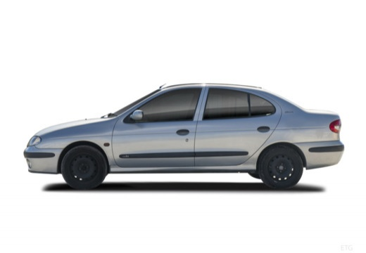 RENAULT Megane Classic III sedan boczny lewy