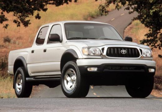 Toyota Tacoma pickup silver grey przedni prawy
