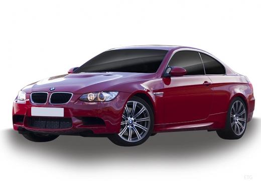 BMW Seria 3 E92 II coupe czerwony jasny