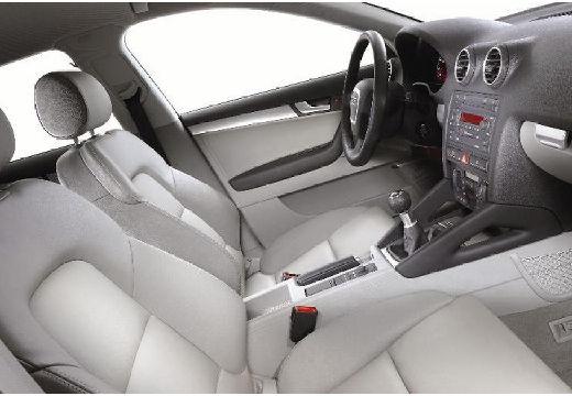 AUDI A3 Sportback I hatchback silver grey tablica rozdzielcza