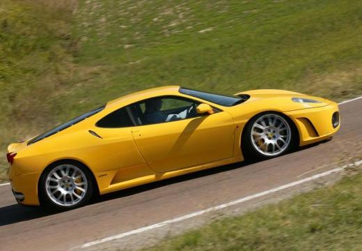 FERRARI 430 F coupe żółty boczny prawy