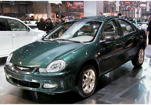 DODGE Neon II sedan zielony przedni lewy