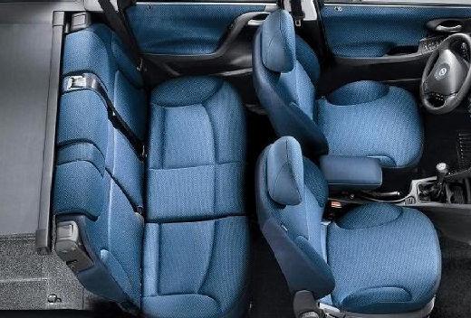 FIAT Stilo Multiwagon I kombi wnętrze
