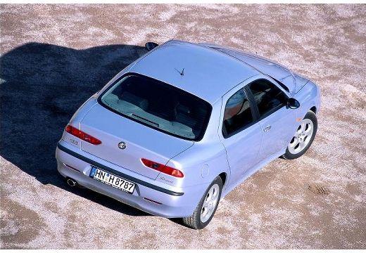 ALFA ROMEO 156 I sedan niebieski jasny tylny prawy