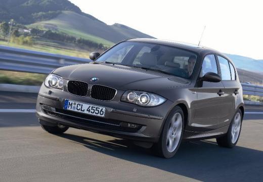 BMW Seria 1 E87 II hatchback brązowy przedni lewy