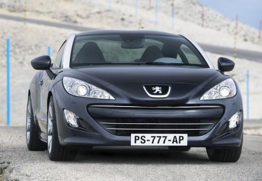 PEUGEOT RCZ coupe czarny przedni prawy