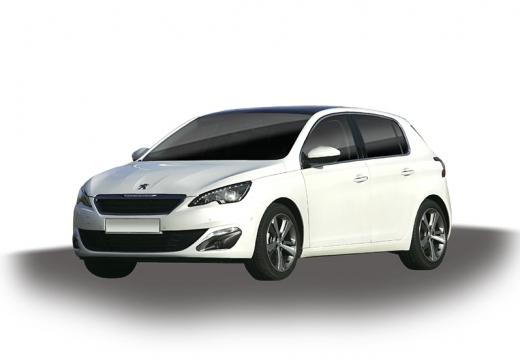 PEUGEOT 308 hatchback biały