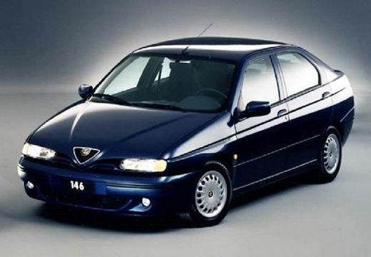 ALFA ROMEO 146 II hatchback niebieski jasny przedni prawy