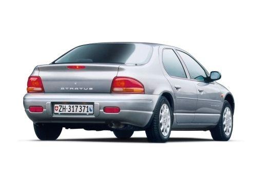 DODGE Stratus sedan silver grey tylny prawy