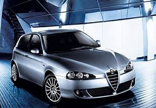 ALFA ROMEO 147 II hatchback silver grey przedni prawy