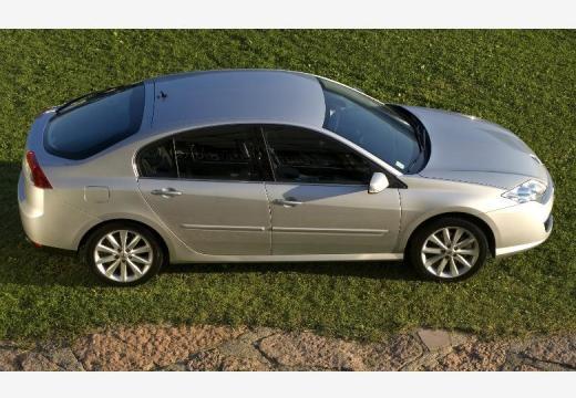 RENAULT Laguna III I hatchback silver grey górny przedni