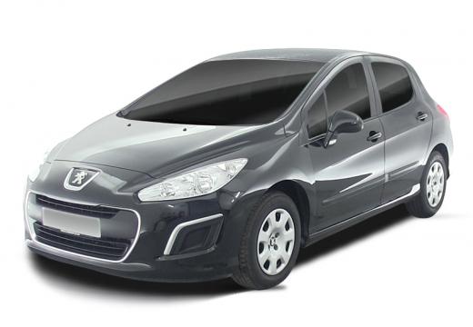 PEUGEOT 308 hatchback czarny